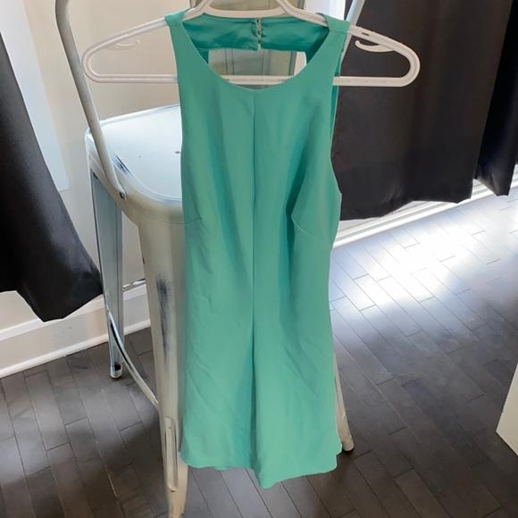 Bebe Size 6 Turquoise Dress
